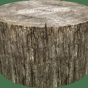 wood chopping stump